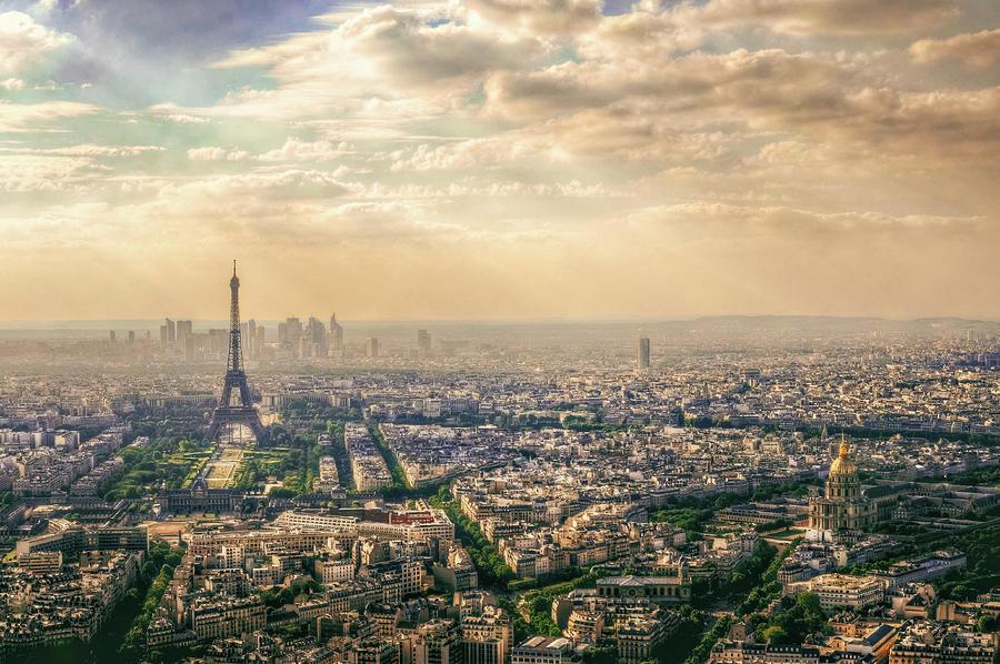 Eiffel Tower Photograph - Paris, France by Mohamed Kazzaz