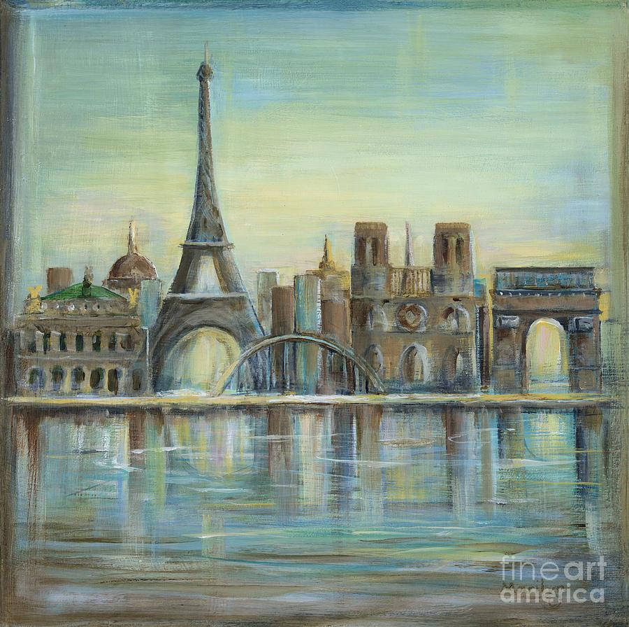Paris Highlights Painting By Marilyn Dunlap