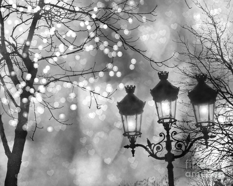 Paris Christmas Sparkle Lights Street Lanterns