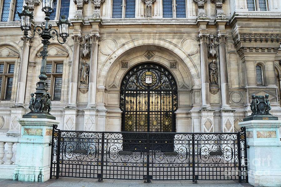 Paris hotel de ville architecture door hotel deville art deco art nouveau p - Hotel art deco paris ...