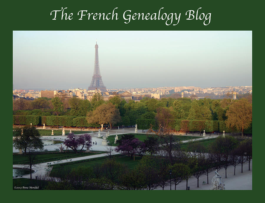 France Photograph - Paris In The Fall With Fgb Border by A Morddel