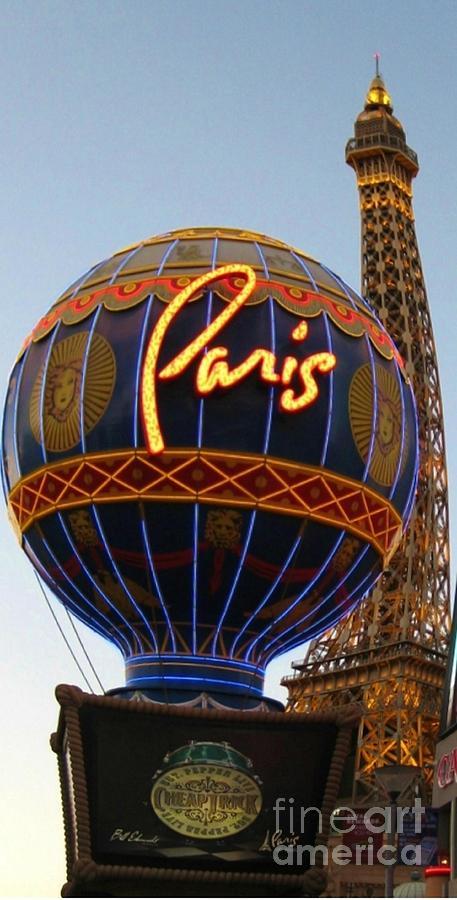 Las Vegas Photograph - Paris In Vegas by John Malone