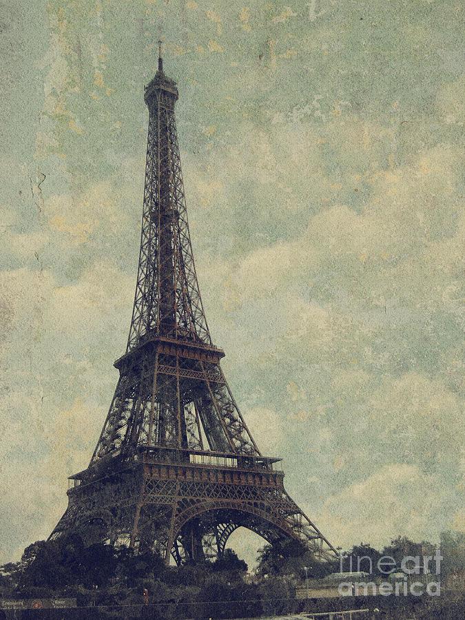 Paris Digital Art - Paris by Jelena Jovanovic
