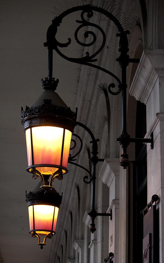 Lamp Photograph   Paris Lamp By Ivete Basso Photography