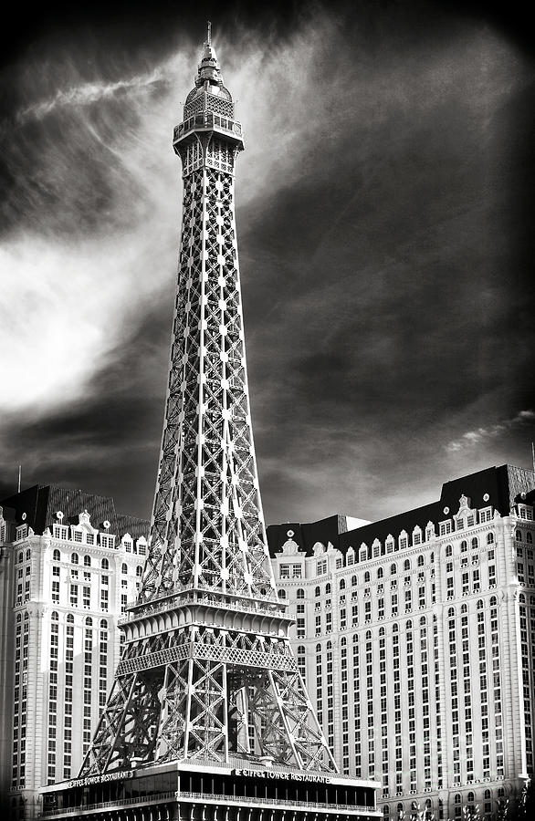 Paris Las Vegas Photograph - Paris Las Vegas by John Rizzuto