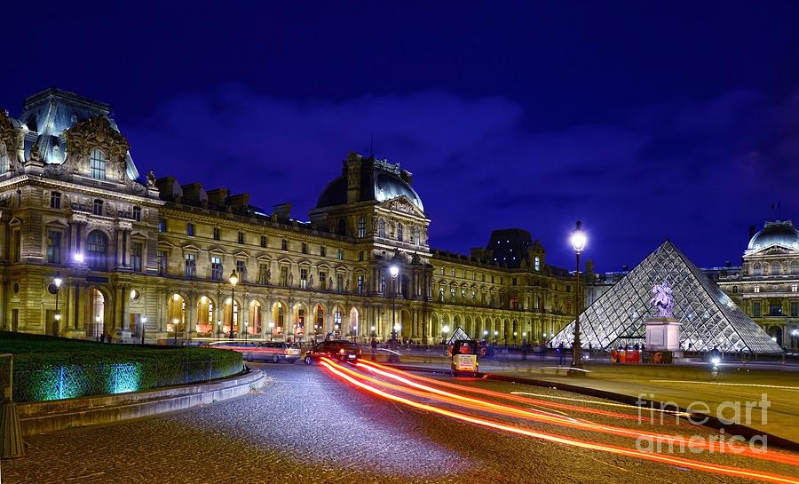 Paris Photograph - Paris Louvre Museum by Lilianna Sokolowska