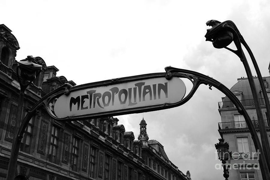 Paris metro sign wall art photograph paris metro sign louvre museum paris metropolitain