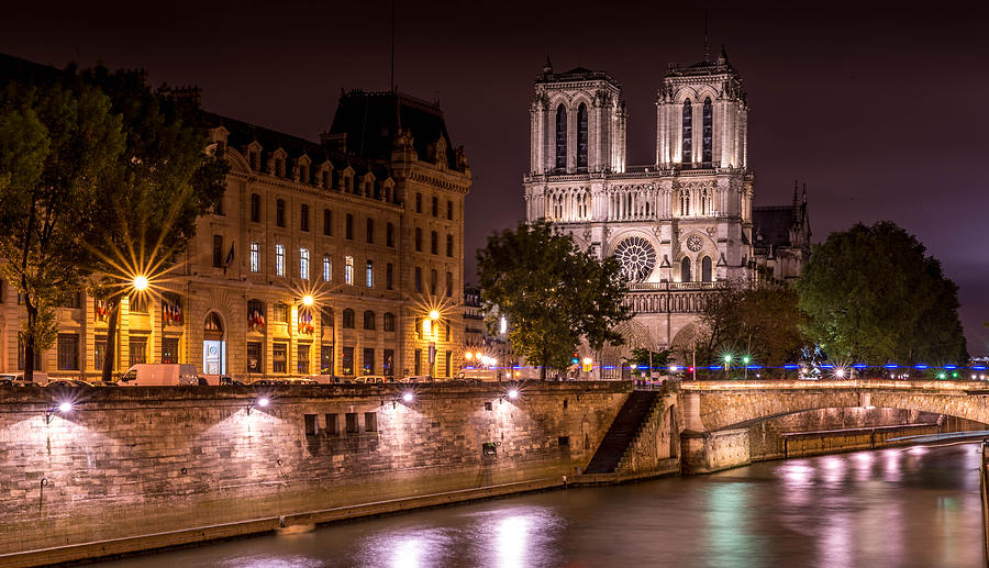 Paris France Photograph - Paris Notre Dame by Tomas Horvat