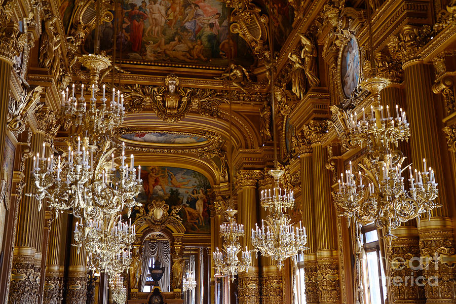 Paris Opera House Garnier Tour