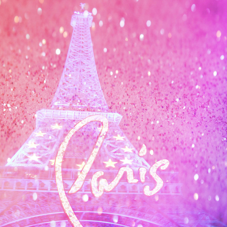 Paris Pink Digital Art By Veronica Ventress