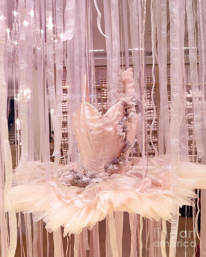 Paris Repetto Pink Ballerina Tutu Window Display - Parisian ...