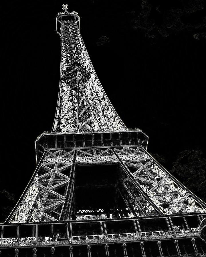 Scenic Photograph - Paris  by Rhonda McDougall