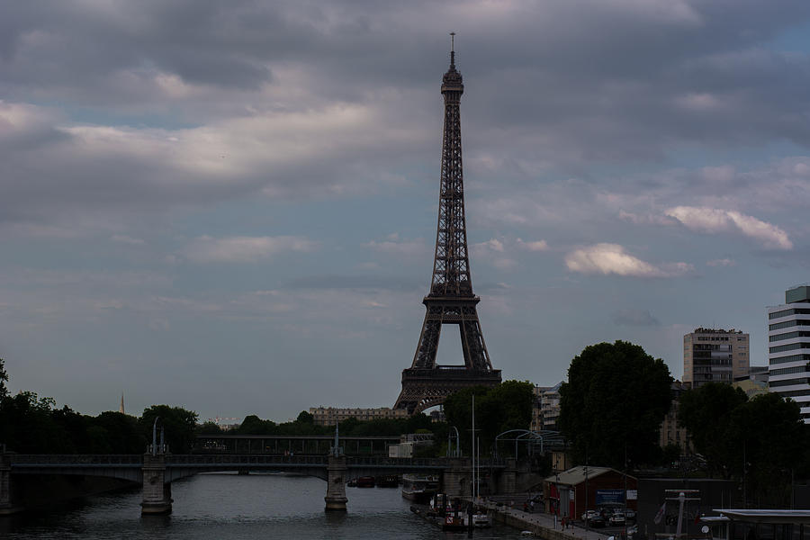 Paris Photograph - Paris Skyline by Owais Shah
