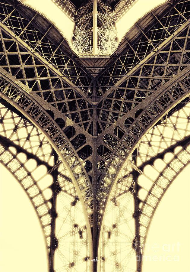 Architecture Photograph - Paris Steel by ARTSHOT - Photographic Art