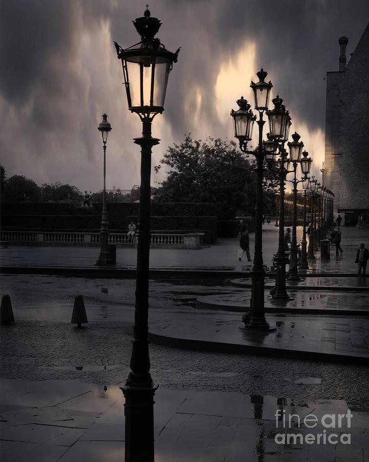 paris lighting street - photo #13