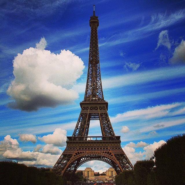 Paris Photograph - #paris #toureiffel #france by Luisa Azzolini