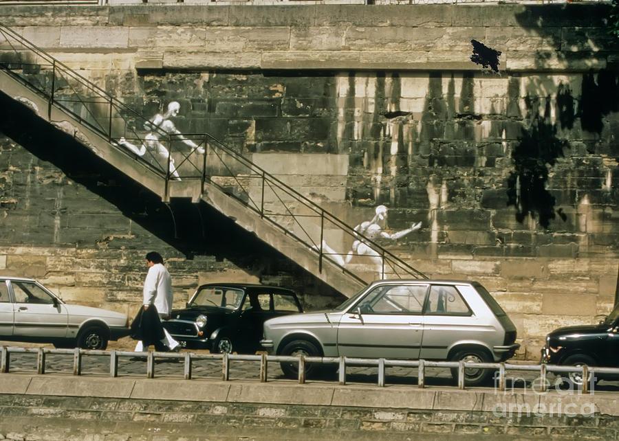 Paris Photograph - Paris Wall by Thomas Marchessault