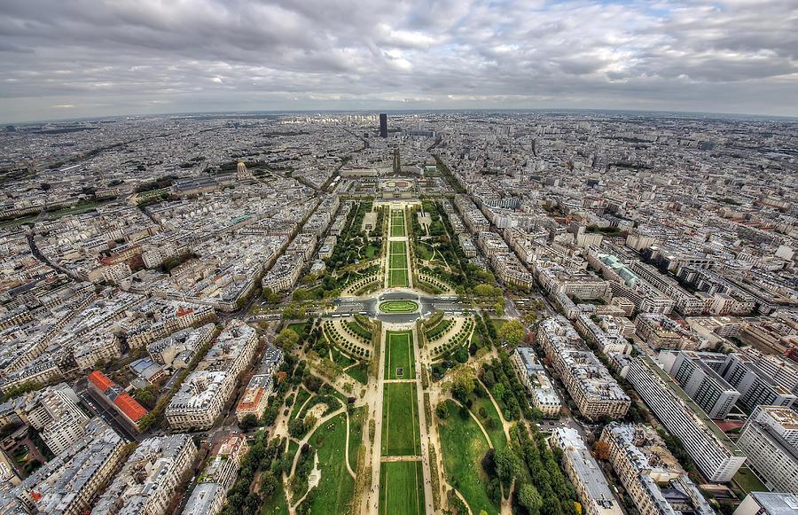 Paris Wide View Photograph by Ioan Panaite