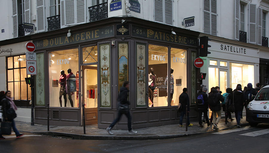 Paris Photograph - Parisian Evolution by Randi Shenkman