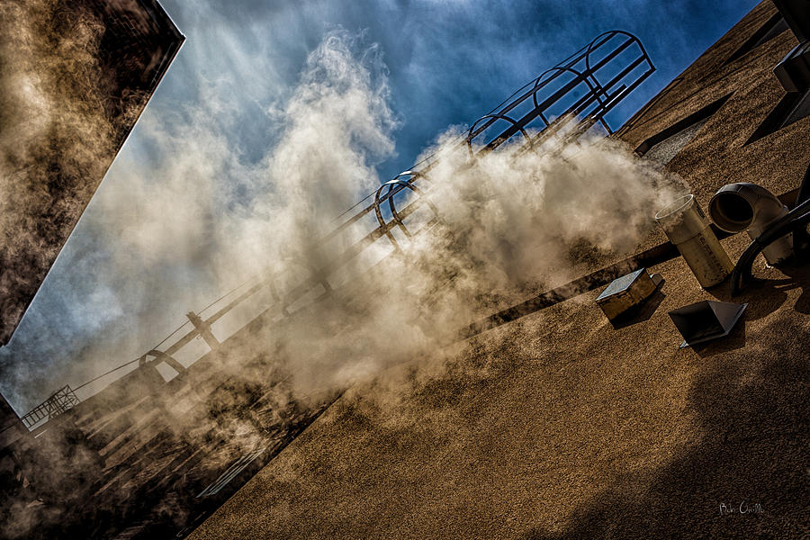 City Photograph - Park Alley Steam by Bob Orsillo
