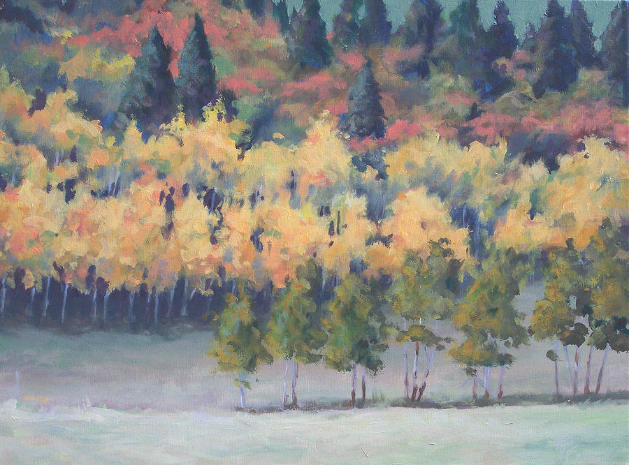 Landscape Painting - Park City Meadow by Philip Fleischer