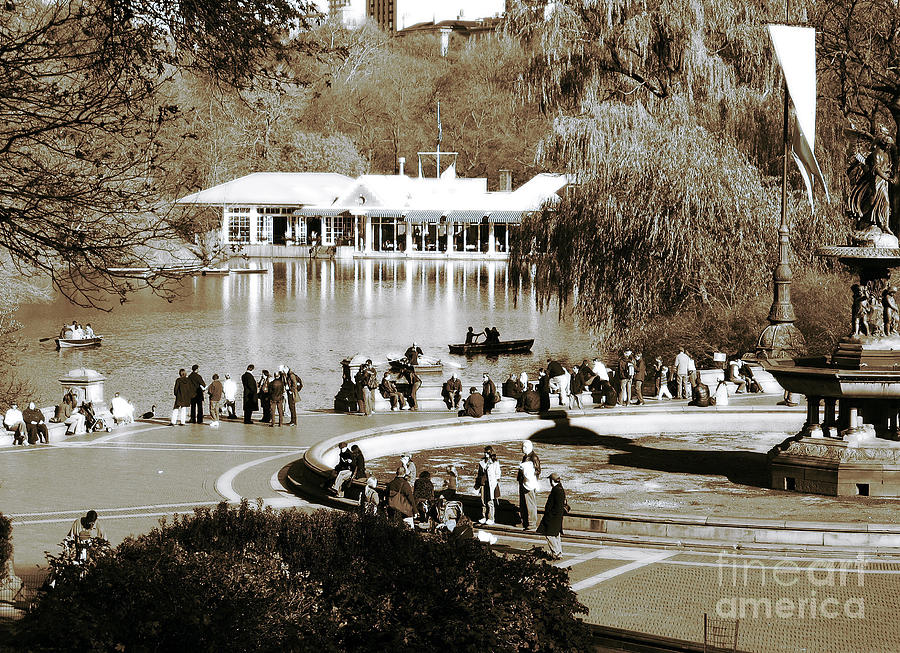 New York City Photograph - Park Day by John Rizzuto