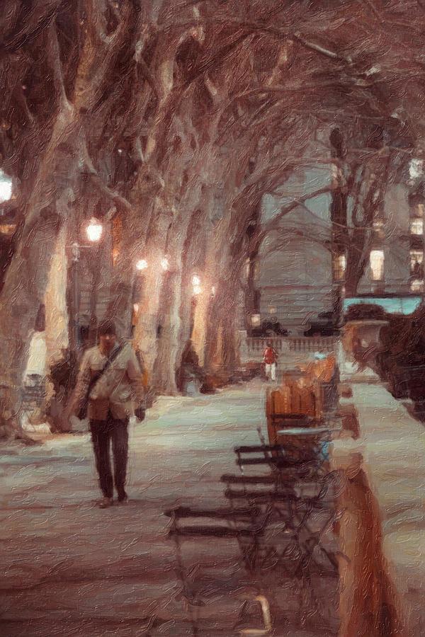 New York Photograph - Park Walk by Emmanouil Klimis