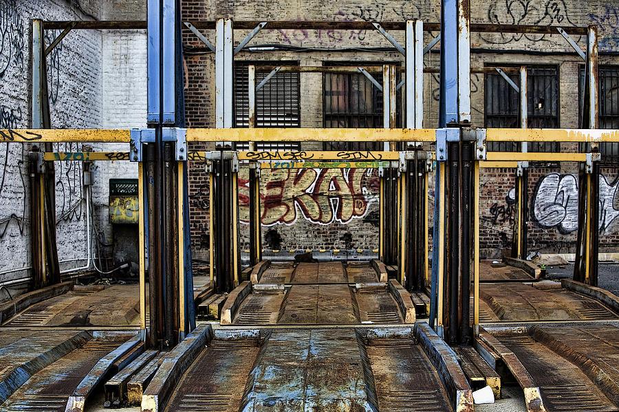 Graffiti Photograph - Parking Unreality by Joanna Madloch