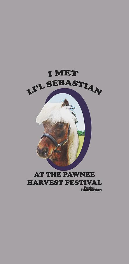 Parks And Rec Digital Art - Parks And Rec - Lil Sebastian by Brand A
