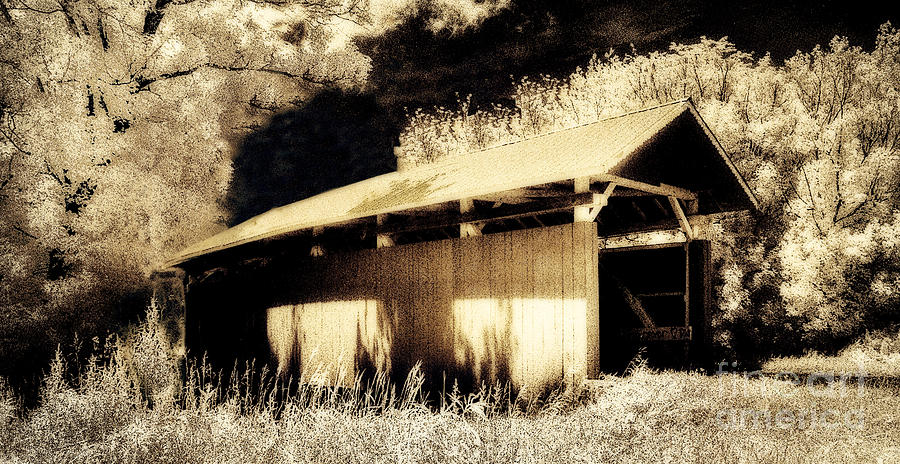 Parks South Covered Bridge 35-64-02perry County Ohio Photograph