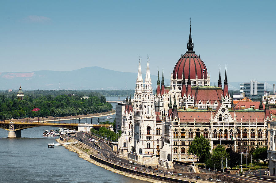 Parliament On Danube River Photograph by Ph Ferdinando Scavone