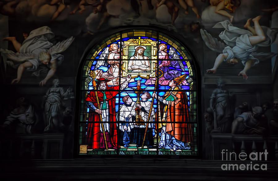 Parma Photograph - Parma West Window by Nigel Fletcher-Jones