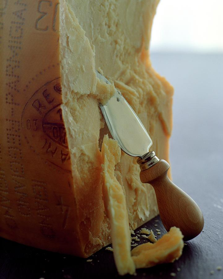 Parmigiano-reggiano Cheese Photograph by Romulo Yanes