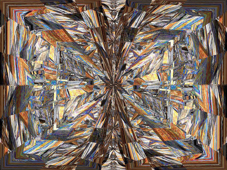 Parquet Digital Art - Parquet Mania by Tim Allen