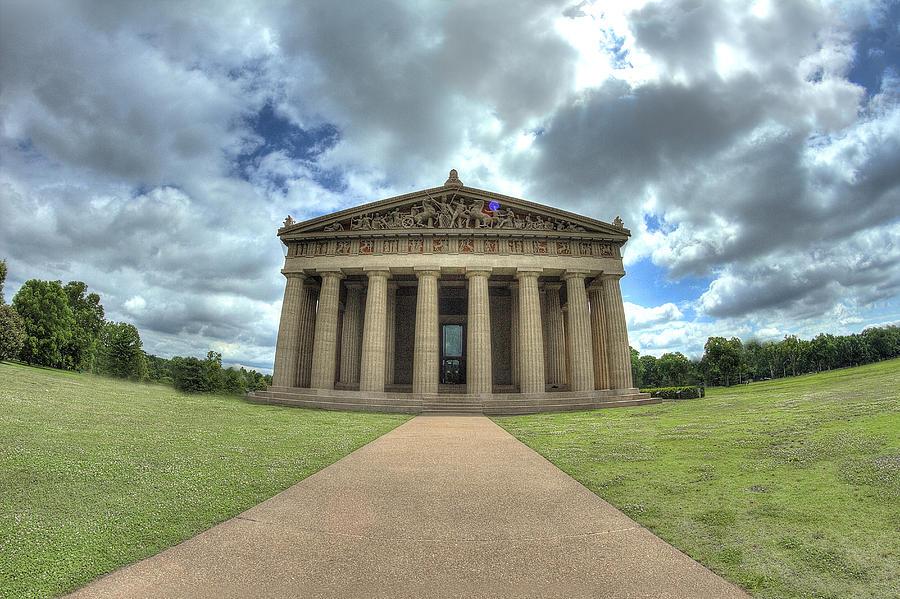 Parthenon Digital Art - Parthenon by Honour Hall