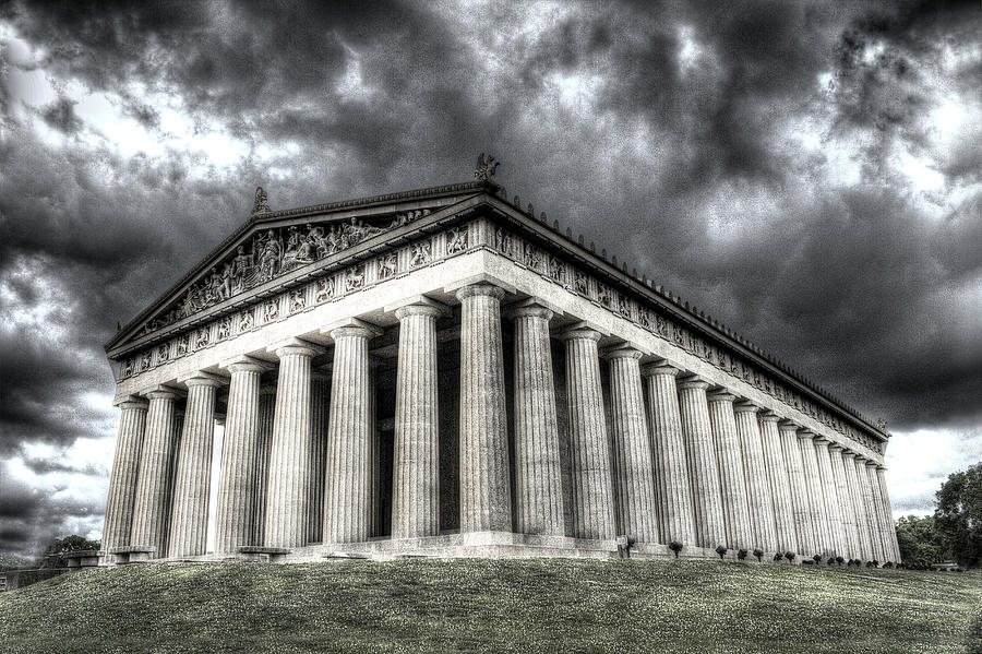 Parthenon Digital Art - Parthenon Of Nashville by Honour Hall