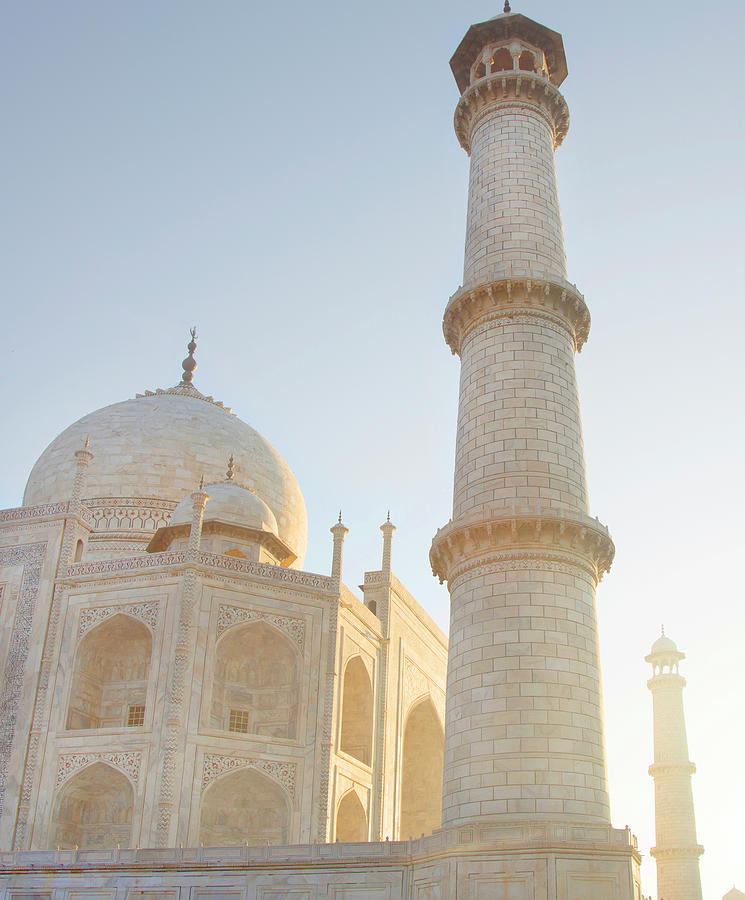 Partial View Taj Mahal Photograph by Grant Faint