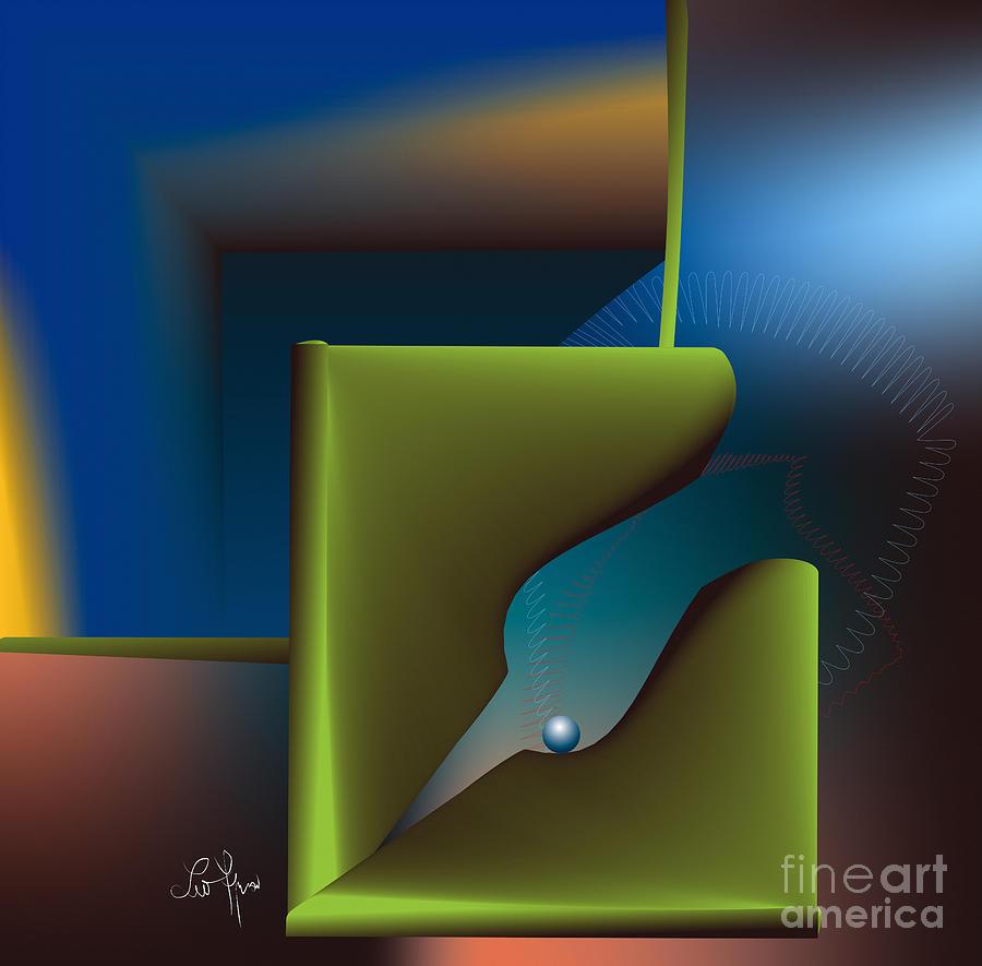 Particle Digital Art - Particle by Leo Symon