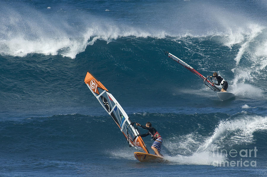 Extreme Sports Photograph - Partners In The Extreme by Bob Christopher