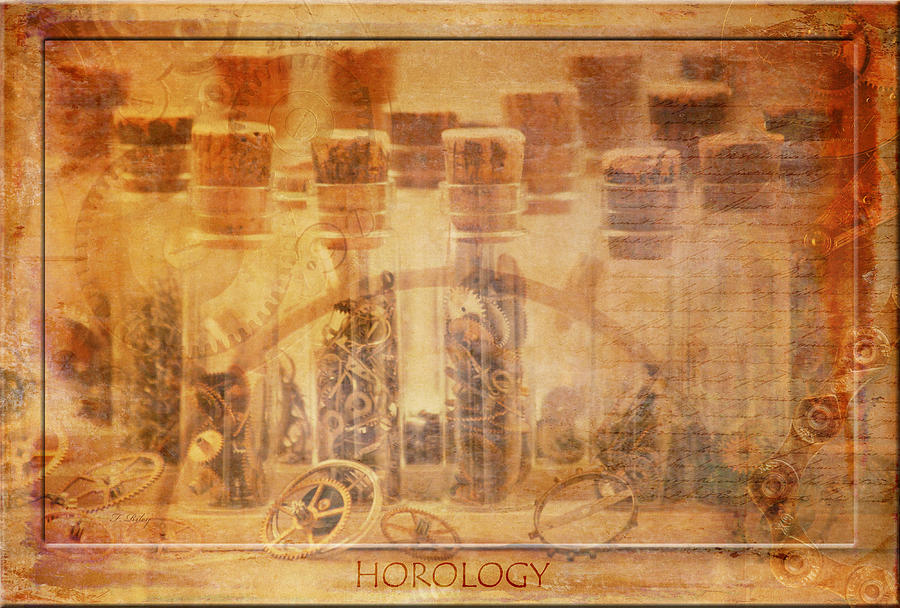 Horology Photograph - Parts Of Time by Fran Riley