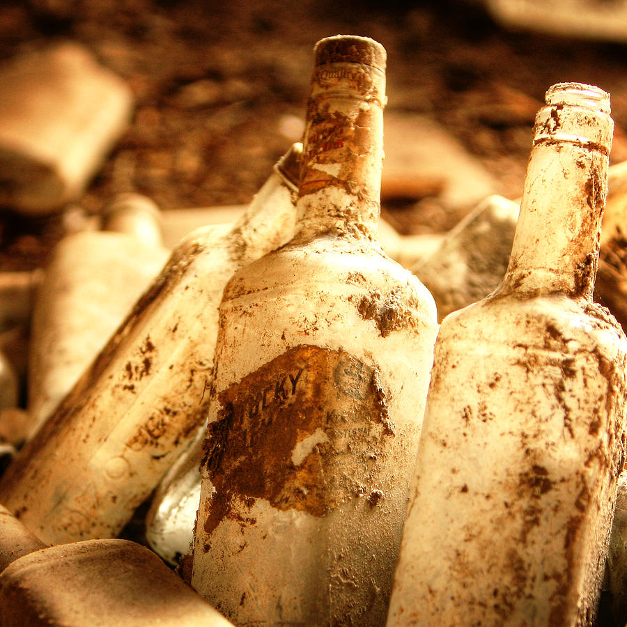 Bottles Photograph - Party Time by Tony Santo