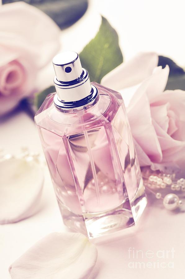 Bottle Photograph - Parume Bottle by Jelena Jovanovic