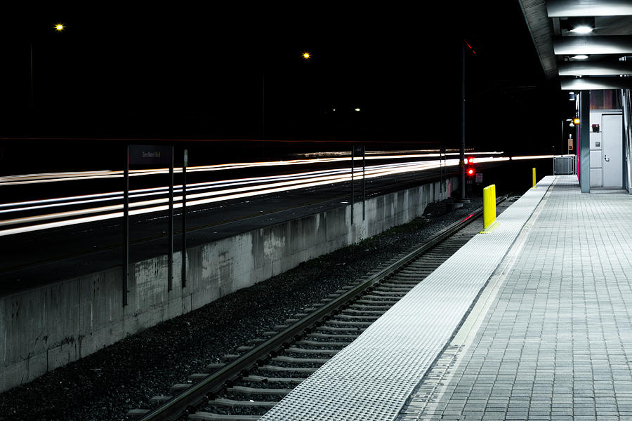 Train Station Photograph - Pasadena Station by Rollie Robles