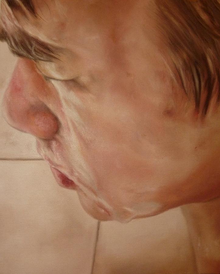 Portrait Painting - Pasar La Toalla by Cherise Foster