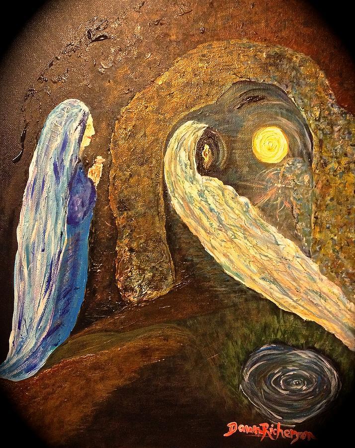 Spiritual Painting - Passage by Dawn Richerson