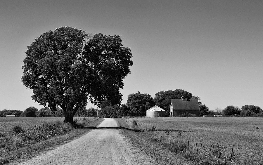 Black And White Photograph - Passage Of Time by Tom Druin