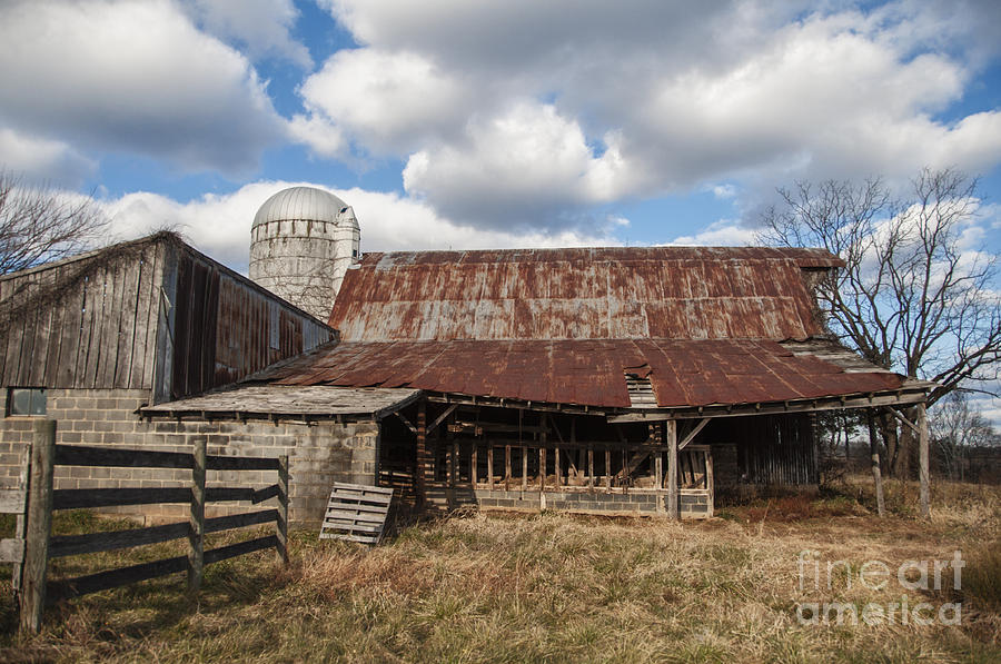 Farm Photograph - Passed By by Terry Rowe