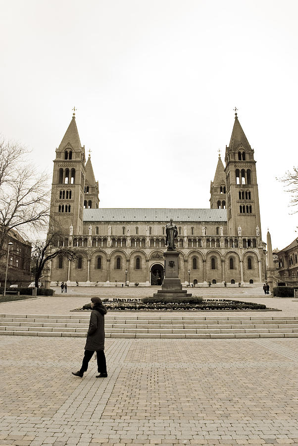 Cathedral Photograph - Passing By by Gabor Fichtacher