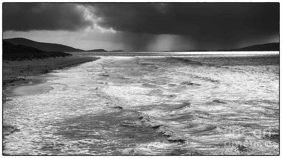 Passing Storm Luskentyre by George Hodlin