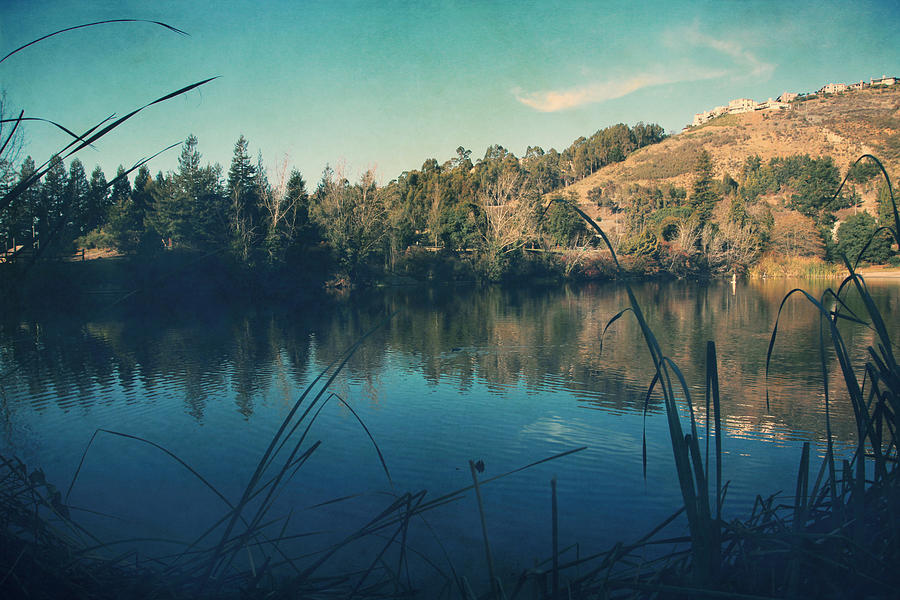 Lake Temescal Photograph - Passing The Day Away by Laurie Search